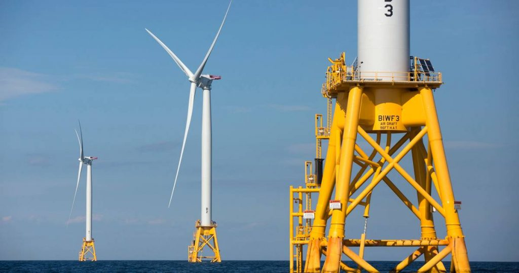 US government approves first large offshore wind farm |  abroad