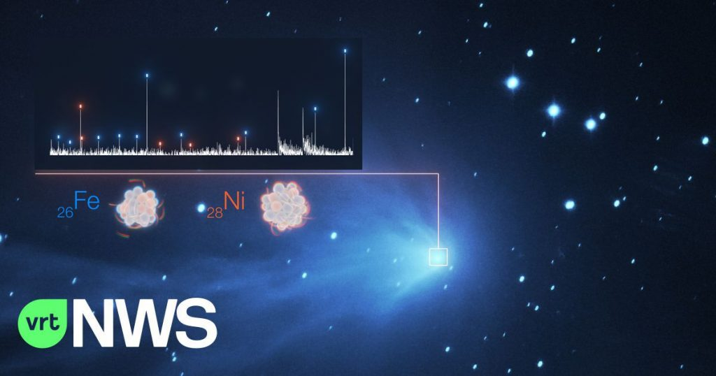 Unexpected heavy metal vapors are found in the atmosphere of comets from our solar system - and beyond