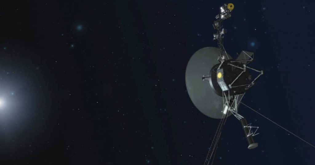 """Voyager 1 hears a """"hum"""" outside our solar system  Science"""