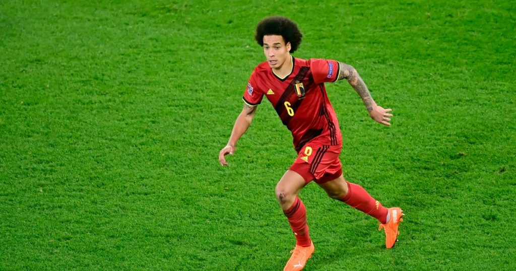 """What about Axel Witsel, more than a week before the European Championship was chosen?  """"He can start running in the field""""    Red Devils"""