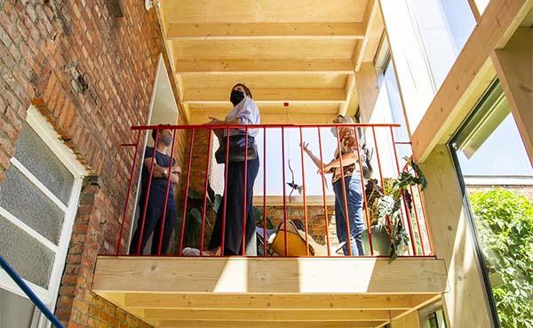 Renovaties zorgen voor inspirerende plekken en buurten