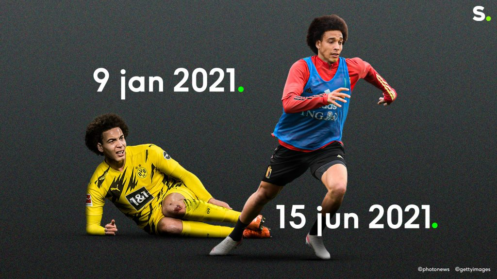 How Axel Witsel got fit for the EC record speed |  EC Football 2020