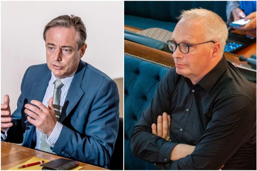 "Peter Mertens (PVDA) on De Wever's comments: ""Choice... (Antwerp)"