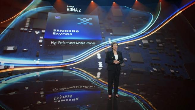 Samsung Exynos-soc met RDNA 2