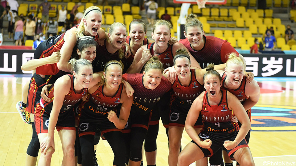 Belgian cats tremble to the quarter-finals of the European Basketball Championship |  Belgian cats