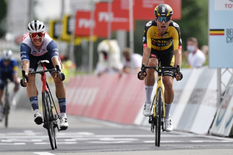 Wout van Aert immediately aims for the yellow jersey in the first stage of the Tour de France: