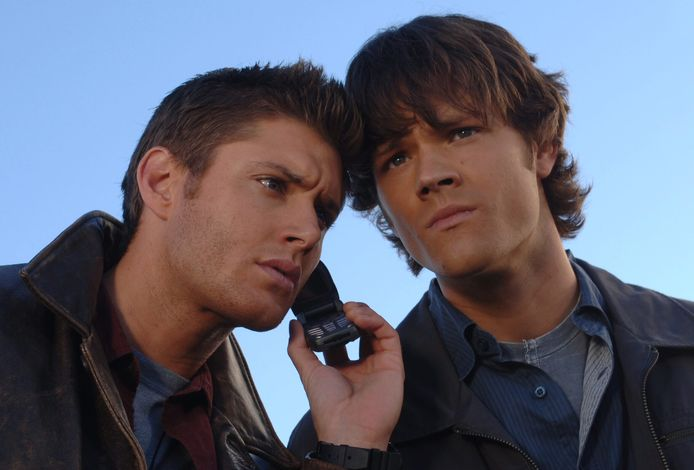 Supernatural with Jensen Ackles and Jared Padalecki.
