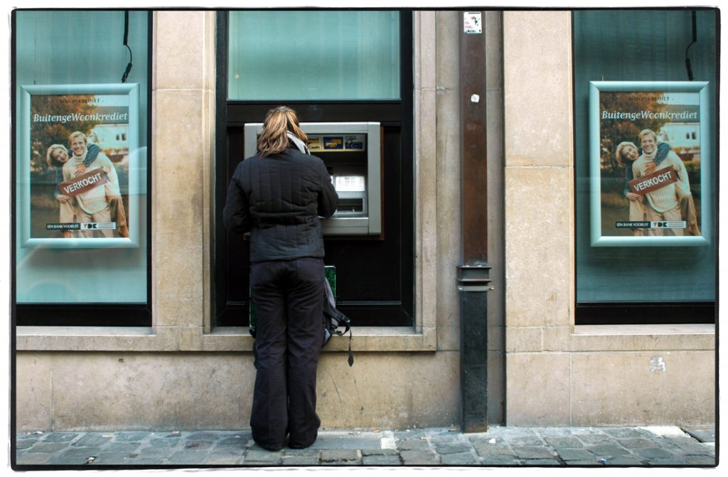 A complaint against the banks' plan to reduce the size of ATMs...