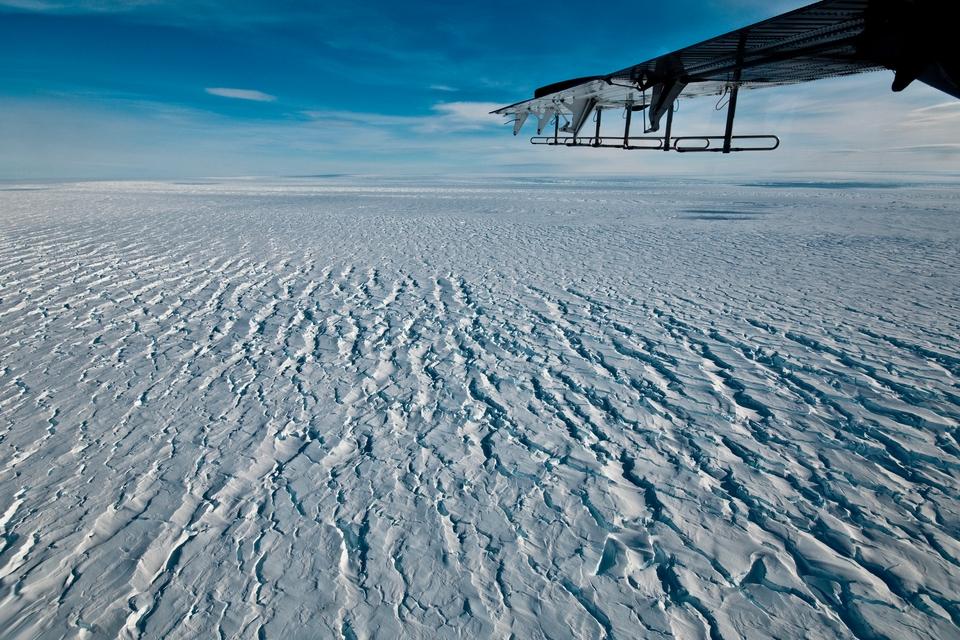 Antarctic ice shelf worries researchers