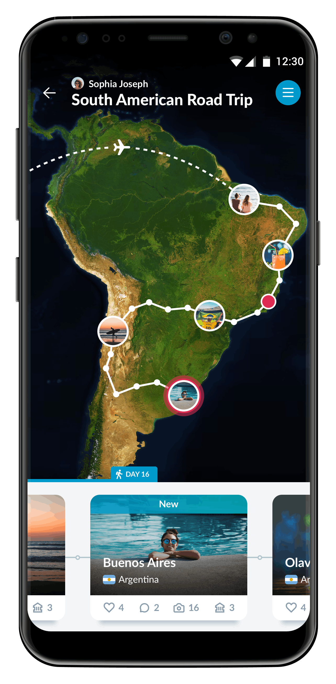 App of the Week: Record your trips (worldwide) with Polarsteps