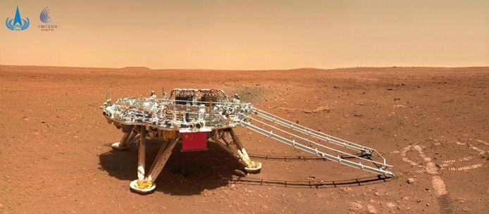 Chinese Mars rover publishes new images of a red planet, including a self-portrait | science and planet - Cheraw Chronicle
