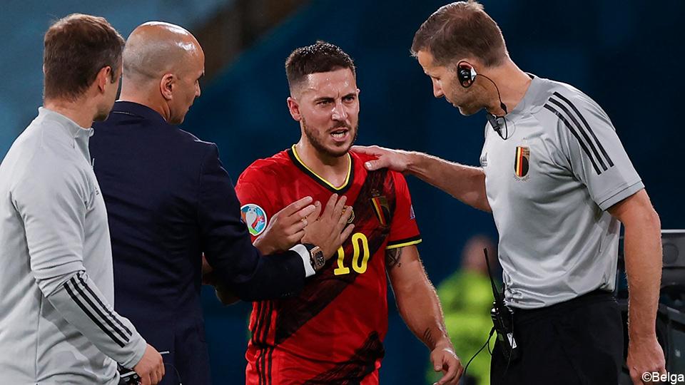 "Eden Hazard worried: ""I hurt myself, but she's waiting"" |  European Football Championship 2020"