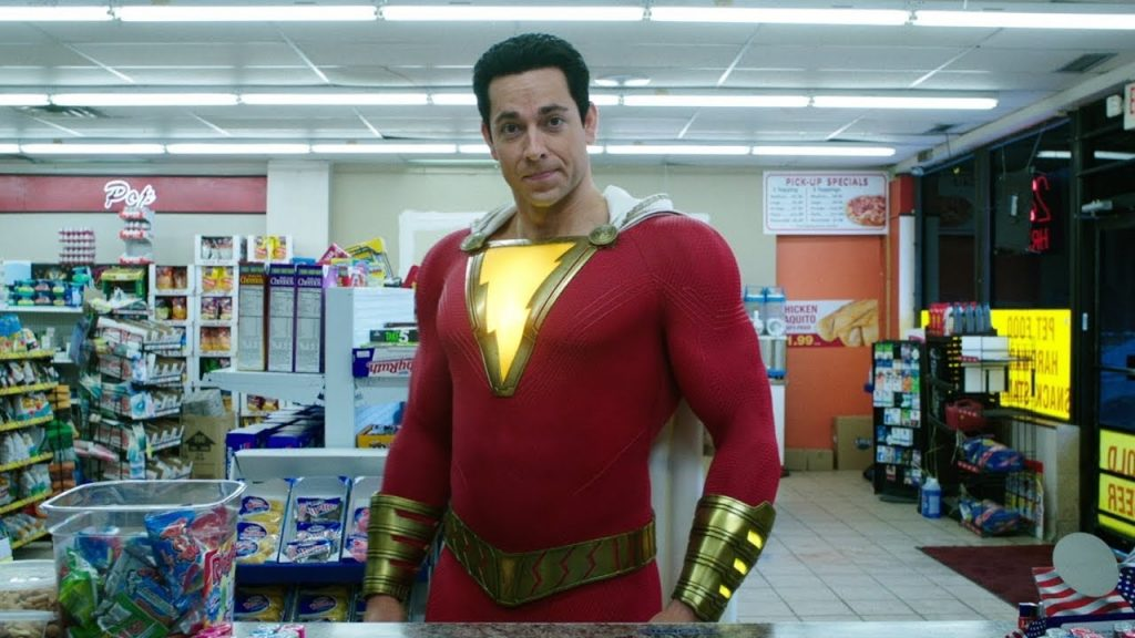 First official look at the redesigned Shazam in 'Shazam!  wrath of the gods