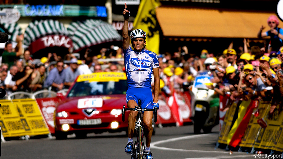 From Virenque in 2003 to Alaphilippe in 2021: stage 100 win on the Lefevere Grand Tour |  Journey