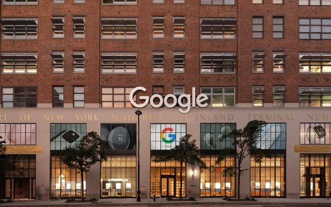 Google opened its first physical store