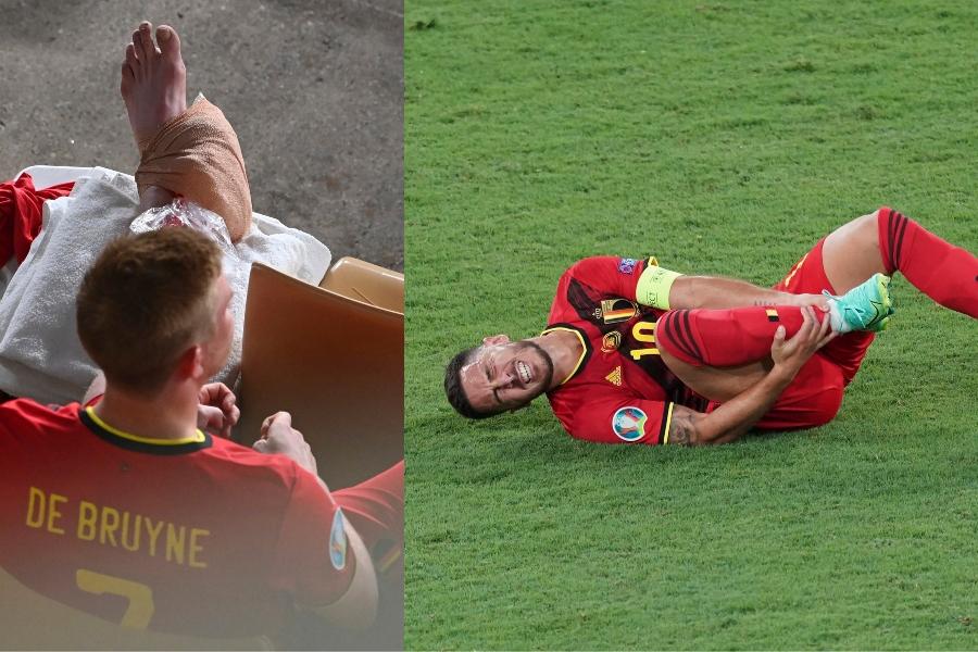 """Hoop voor geblesseerde Kevin De Bruyne, EK van Eden Hazard kan wel eens voorbij zijn: """"Ik voelde iets"""""""