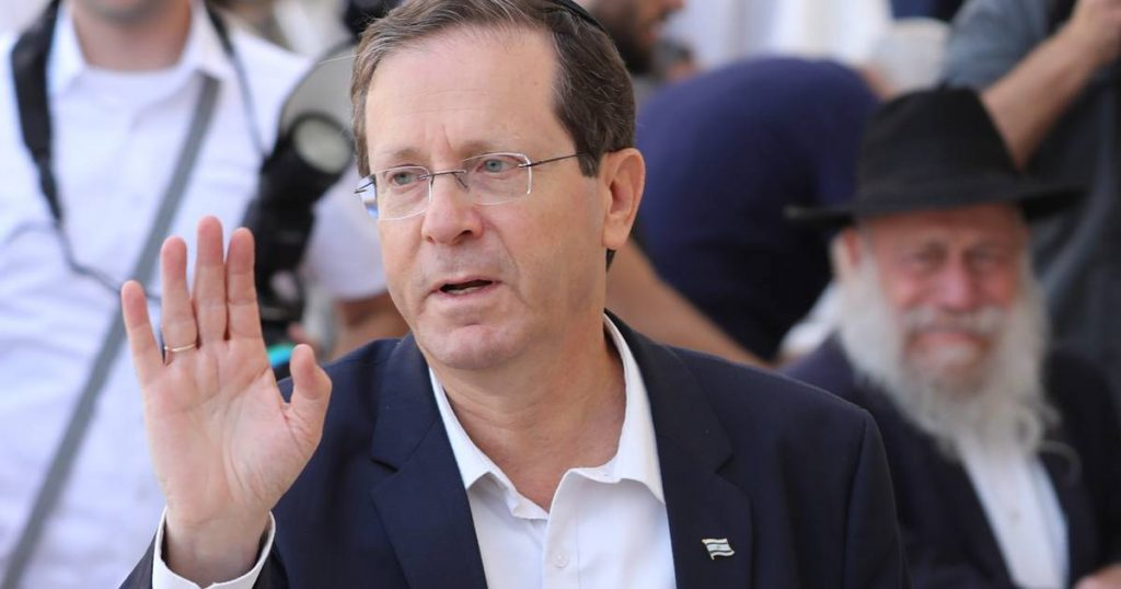 Israel's parliament elects Isaac Herzog as new speaker |  abroad