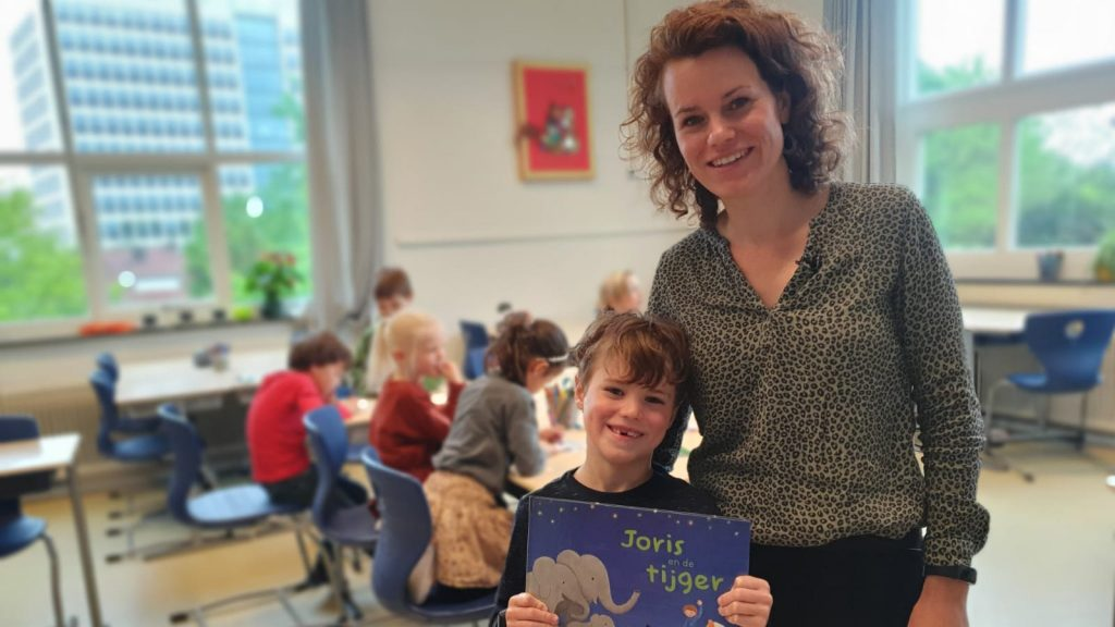 Julian writes a children's book about her son's skin disease