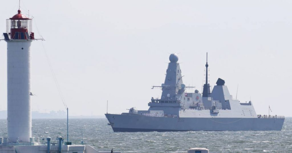 London and Moscow continue the controversy over the incident of the British destroyer in the Black Sea |  abroad