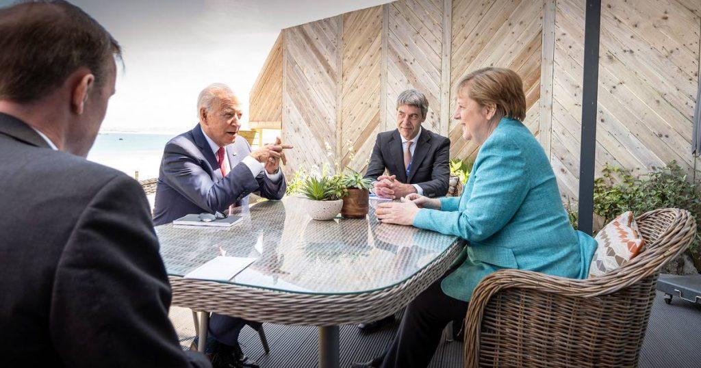 Merkel and Biden calm the folds |  abroad