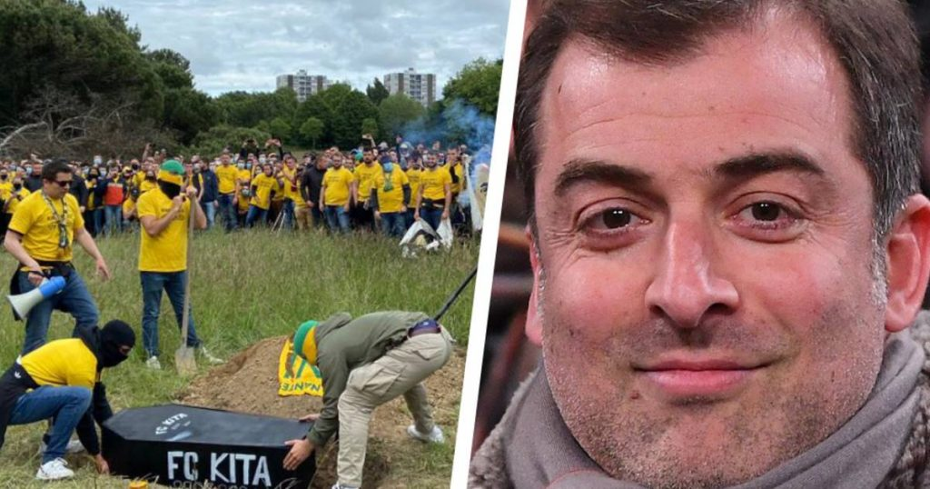 Moji Byat, President of Gut in Nantes: Realtor searches for coffin with other board members buried by angry fans |  foreign football