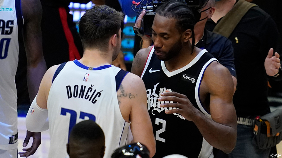 NBA: Unleashed Luka Doncic bites his teeth at Los Angeles Clippers |  NBA