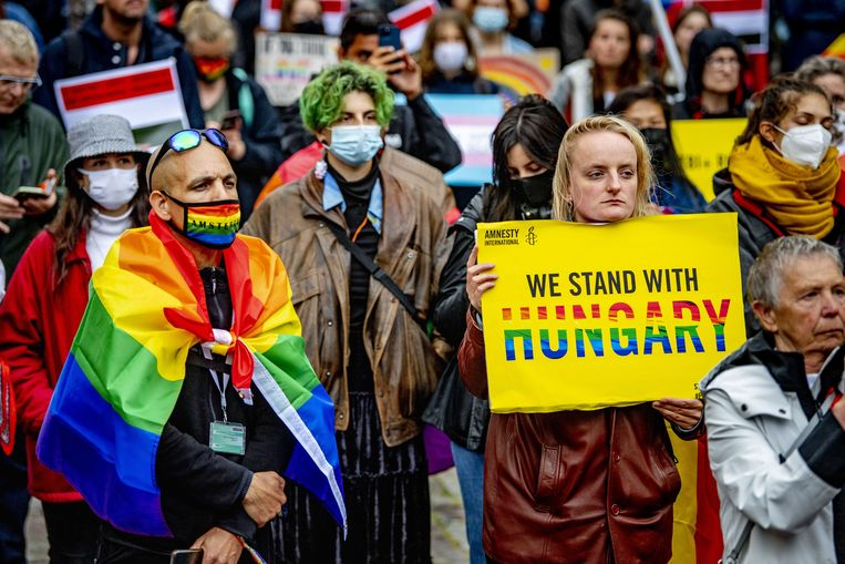 On a collision course with Hungary: 16 European leaders call for the fight for LGBT rights حقوق