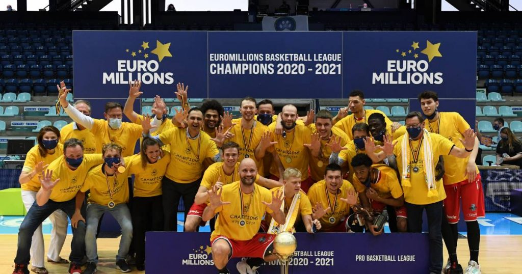 Ostend is the 22nd champion of Belgium after winning 62-69 in Mons, the 10th title in a row |  More sports