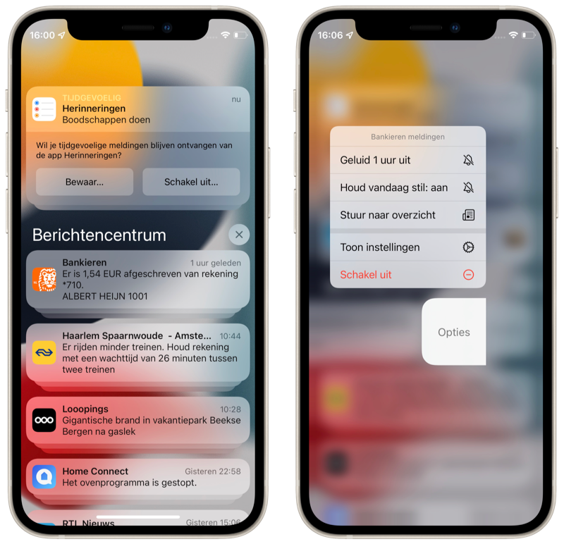 iOS 15 preview: Notifications in a new jacket.