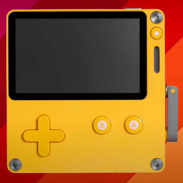 Playdate is a handheld device that gives you a new game every week
