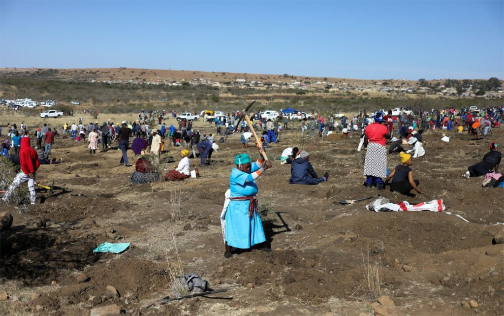 Quartz causes diamond fever in a South African village