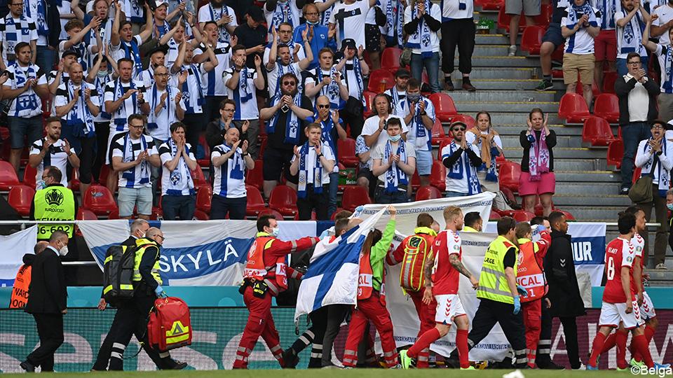 Sports doctor on Eriksen's cardiac arrest: 'We can't control it' |  European Football Championship 2020