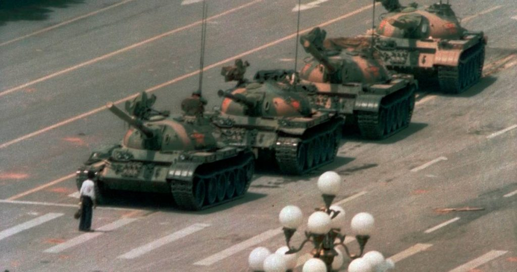 """The disappearance of the image of the Chinese """"tankman"""" from the search engine Bing 