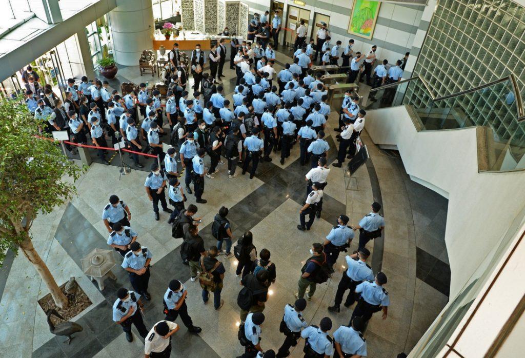 The pro-democracy Apple Daily closes its doors in Hong Kong