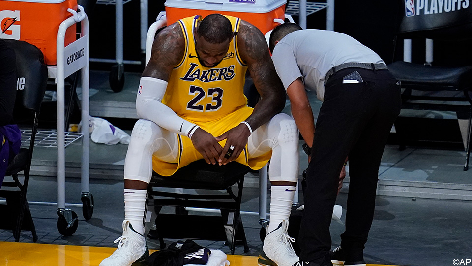 There is no new title for the Lakers: LeBron James and his teammates stumble over Phoenix    NBA