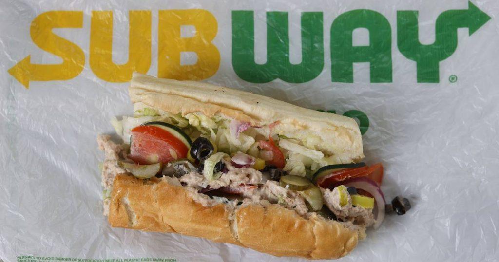 US lab test finds no trace of tuna in Subway tuna sandwiches    abroad