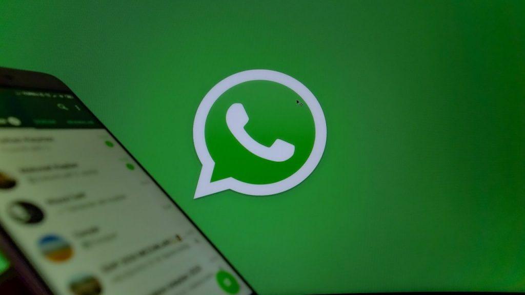 WhatsApp logo smartphone chat