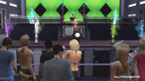 Sims 4 Sims sessions.  Parties