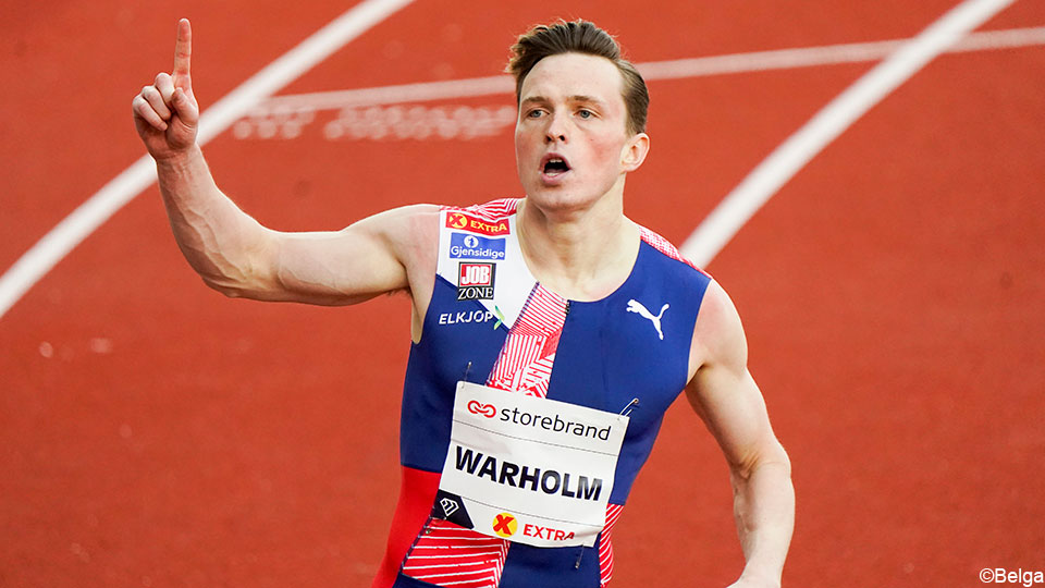 Karsten Warholm breaks the 29-year-old world record in the 400m hurdles    Diamond League
