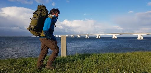 Forest ranger Eddie will walk 3000 km for children with Lyme