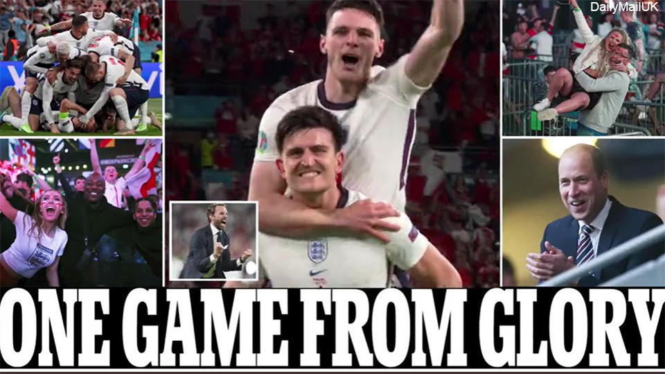 """The final ticket was praised by the English press: """"One match of glory!""""     European Football Championship 2020"""