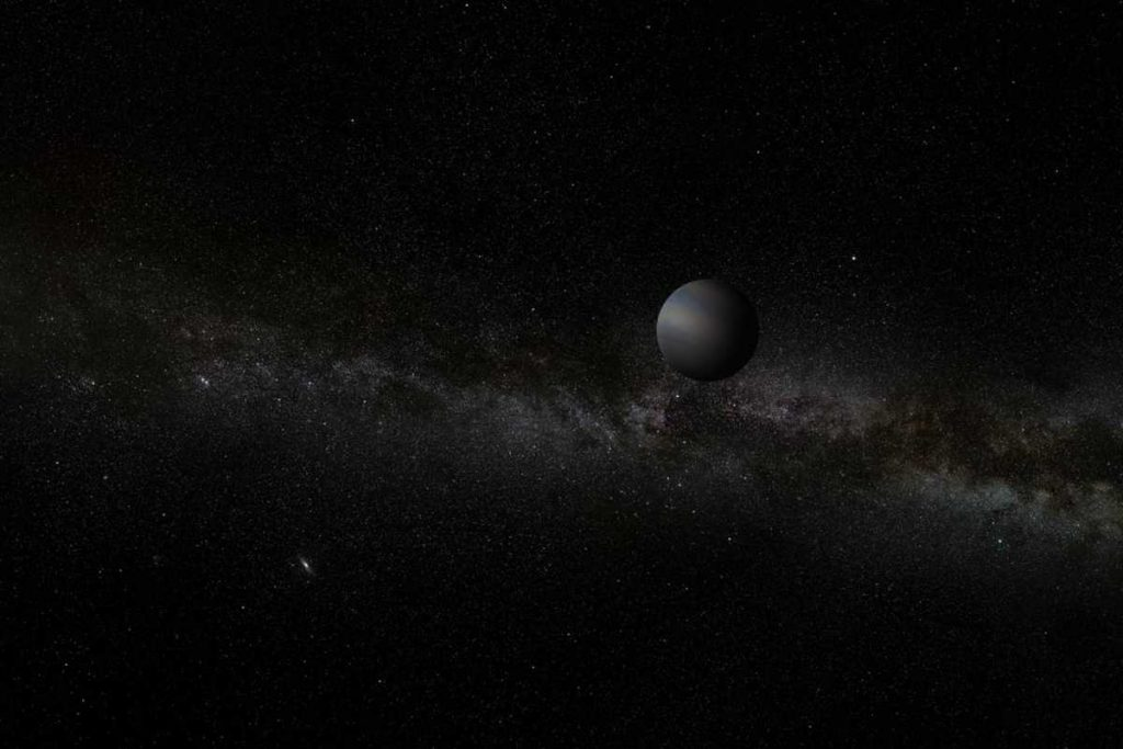 Kepler discovered four planets wandering alone through our Milky Way