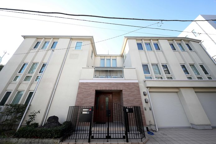 The house where Ghosn was under house arrest in Tokyo.