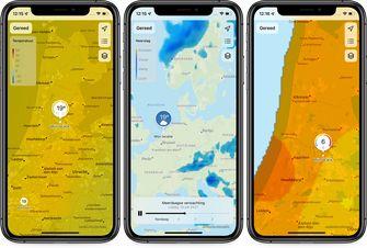 Weather app ios 15 maps