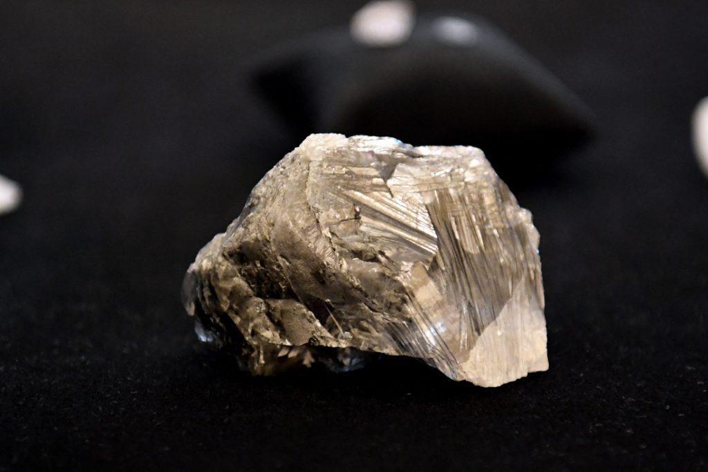 The third largest diamond ever to come to Antwerp (Antwerp)