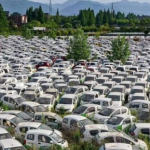 Factcheck: No, this is not a French cemetery for electric cars – Factcheck