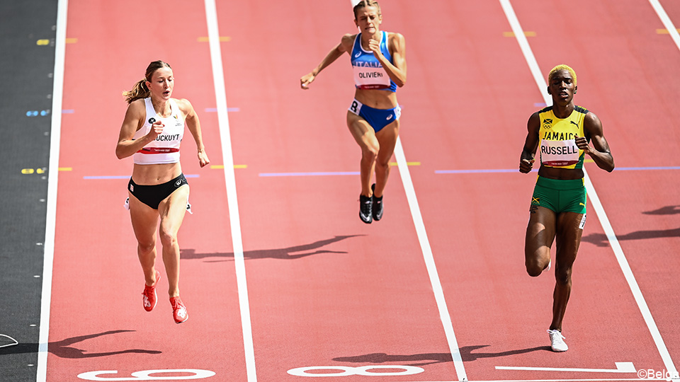 Couckuyt improves Belgian 400m hurdles record and Claes dies in series    the Olympics