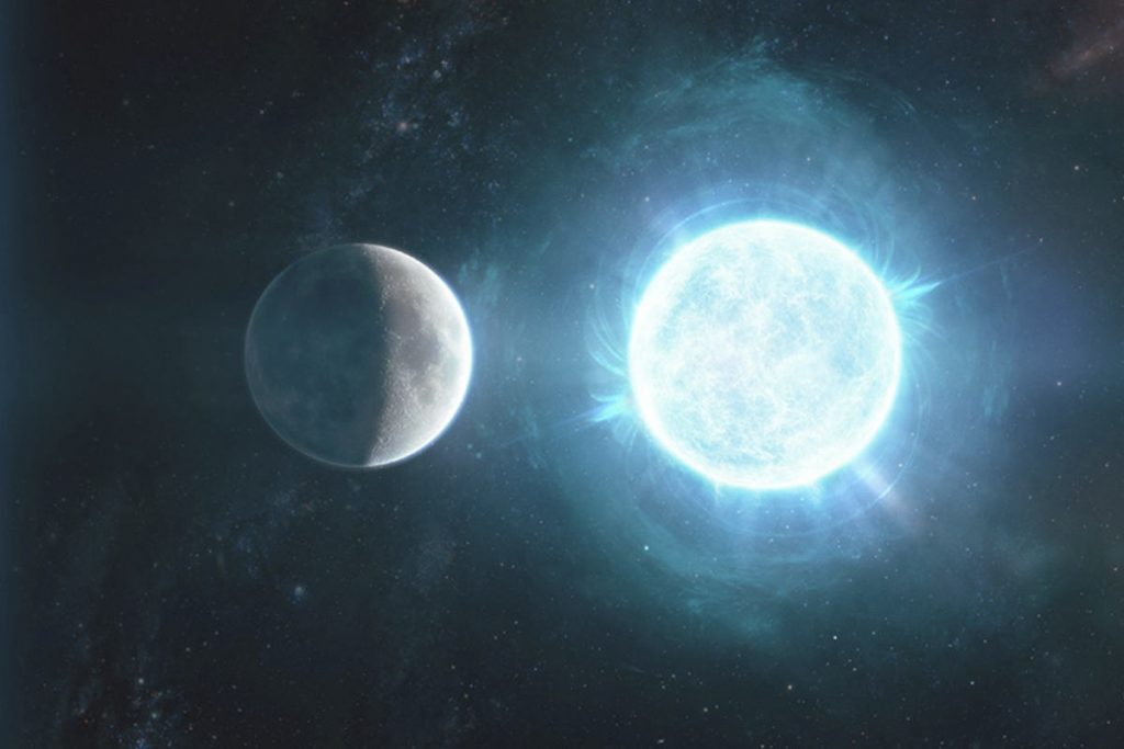 A little white dwarf discovered that it might collapse