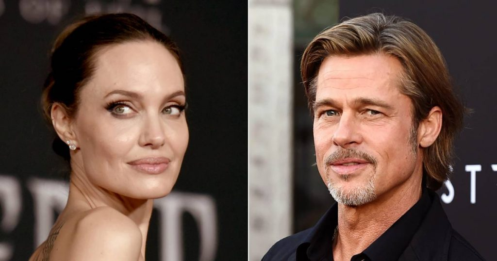 After another judge in the divorce case Brad and Angelina    Famous