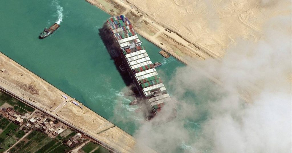 An Egyptian court releases the ship that blocked the Suez Canal  abroad